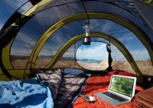 spacious 8 person tent